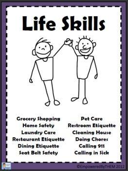 Workbooks » Daily Living Skills Worksheets - Printable Worksheets ...