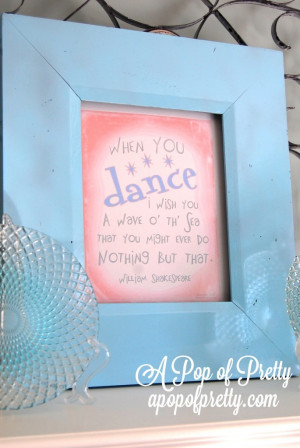 Then frame it for recital season to celebrate the little dancers in ...