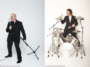 Heston Blumenthal, and Jamie Oliver (as Ringo?)