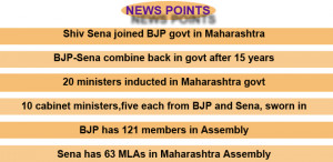 Sena's joining the BJP government now is unique, because this is the ...