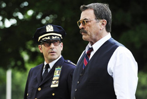 Still of Tom Selleck and John Ventimiglia in Blue Bloods (2010)