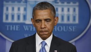 President Barack Obama pauses as he talks about the Trayvon Martin ...