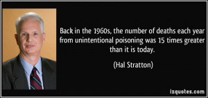 More Hal Stratton Quotes
