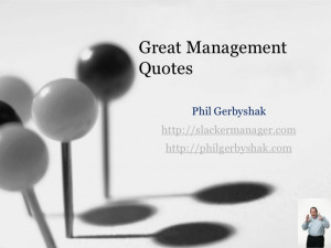 Great Management Quotes