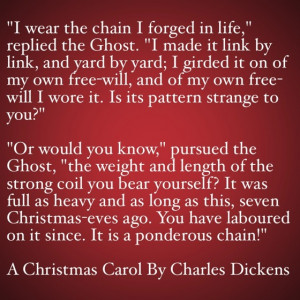 My Favorite Quotes from A Christmas Carol #16 – It is a ponderous ...