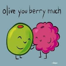 Olive you berry much ♥ More