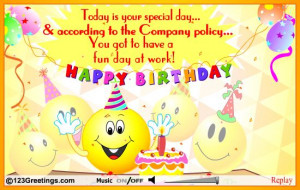 happy birthday wishes for a friend and coworker