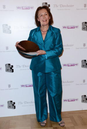 south bank sky arts awards in this photo claire tomalin claire tomalin