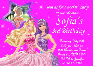 Happy Birthday Princess Quotes Barbie the princess and the
