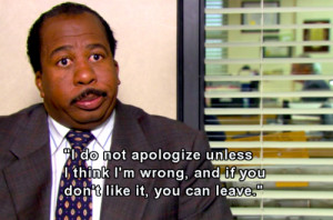 The Office Quotes Stanley Life quote. source:lambgirl