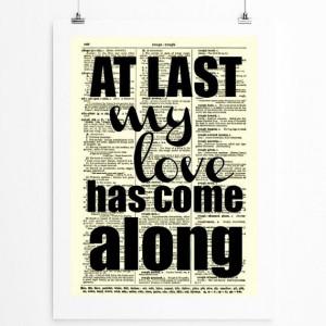 At Last My Love Has Come Along Etta James song lyrics on 1897 ...