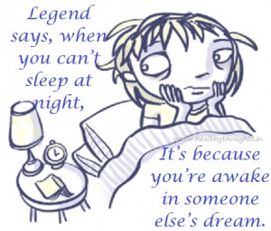 Legend About Sleeplessness