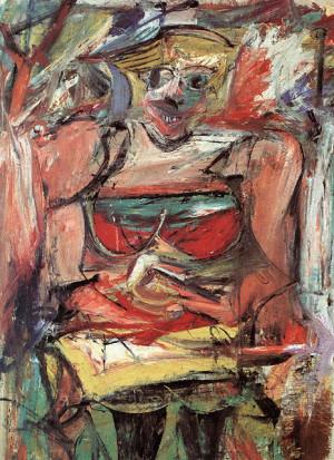 Woman V - Willem de Kooning Paintings