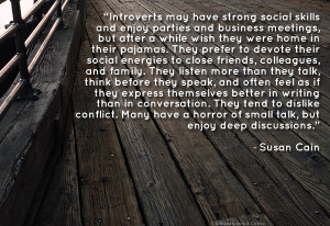 Introverts don't dislike talking to people. They simply prefer ...