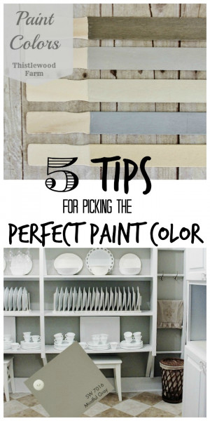 ... post about the paint colors from the house for the longest time