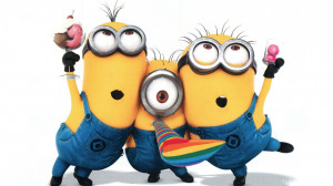 Minion Funny Minions Anime Movies Hd Wallpaper with 1920×1080