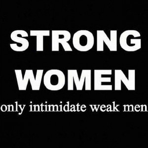 Shout-out to all my other strong women