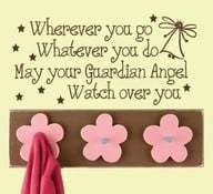 May your Guardian Angel watch over you