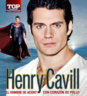Henry Cavill In 'Man of Steel' Promo Around The World (New Pics)