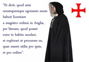 Templar Knight Quotes of The Knights Templar in
