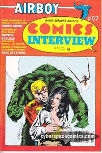 Comics Interview 57 airboy CHUCK DIXON jerry robinson