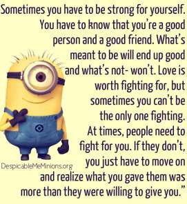 Funny Best Friend Quotes with Minions