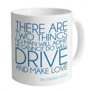 Stirling Moss Quotation Mug