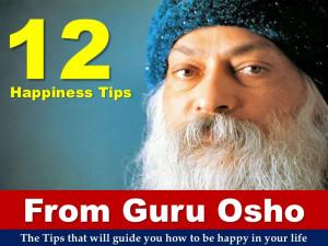 12 Happiness Tips From Guru Osho