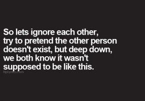 Deep down...