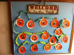 Pumpkin/Fall Classroom BoardPumpkin Fal Classroom, Theme Preschool ...