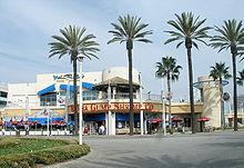 Le restaurant Bubba Gump Shrimp Co. à Long Beach (Californie) .