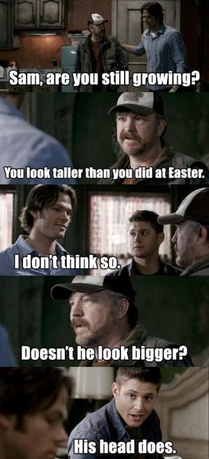 Supernatural Funny Quotes | vt_graphics: GIFS: Supernatural Crack!Gifs ...
