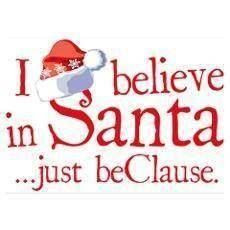 Christmas images I believe in Santa
