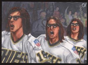 FS Leaf Best Of Hockey AP Sketch Cards-Henderson