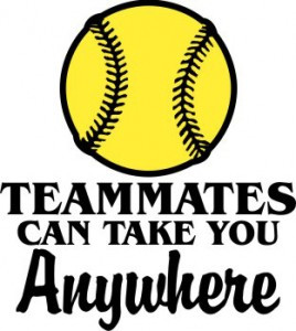 teammates softball 268x300 Team Chemistry Getting to Know Each Other