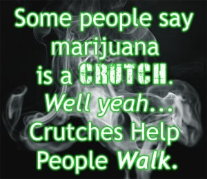Smoking Marijuana Quote