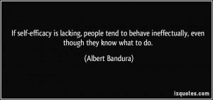 Albert Bandura's Quotes
