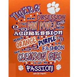 Clemon Tigers - Clemson Obsession T-Shirts Tigers