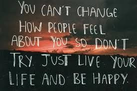 Can't change people.