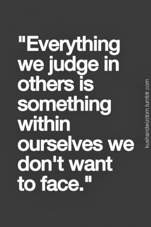 Judgement | Just a good quote