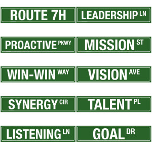 ... Habits and other leadership concepts are reinforced. High-quality