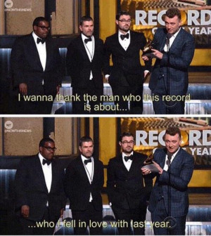 Sam Smith's acceptance speech was everything on imgfave
