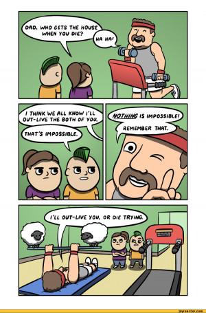 paintraincomic :: dad :: death :: comics (funny comics & strips ...
