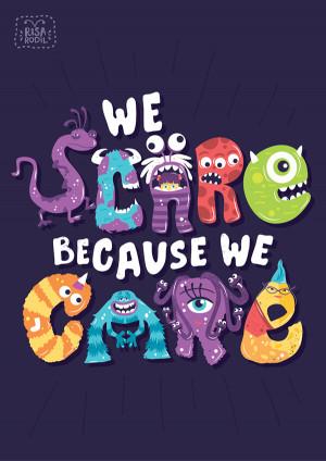 Typographic Illustrations Of Inspiring Quotes From Popular Pixar Films