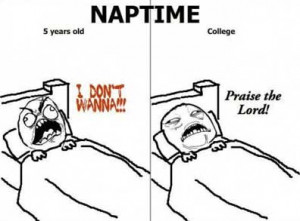 Nap Time & How It Evolves As You Get Older