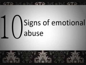10 Signs of Emotional abuse. (The spelling/grammar in this vid is a ...