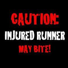 Running. More