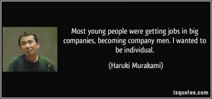 More Haruki Murakami Quotes