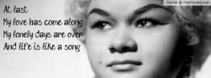 Etta James Profile Facebook Covers