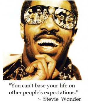Stevie Wonder on Life #quotes